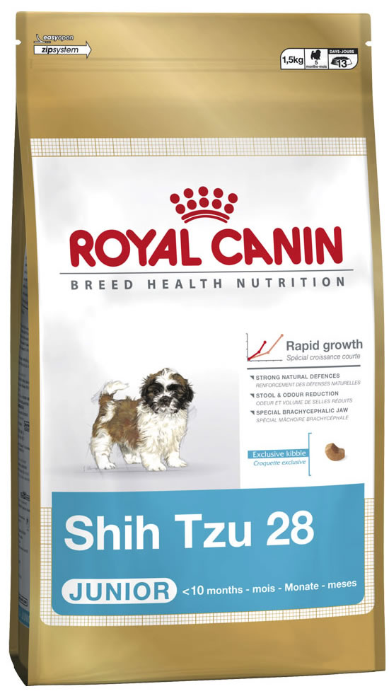 shih tzu junior royal canin. Black Bedroom Furniture Sets. Home Design Ideas